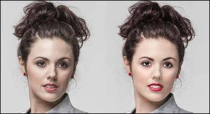 Model Beauty Retouching -clipandtouch