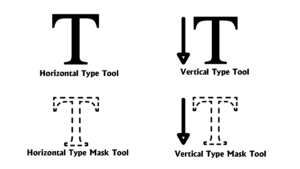 Vertical Type Mask Tool