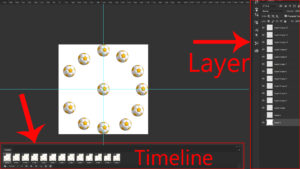 create layers in timeline