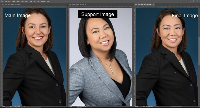 How to do Face Swap easily in Photoshop 16